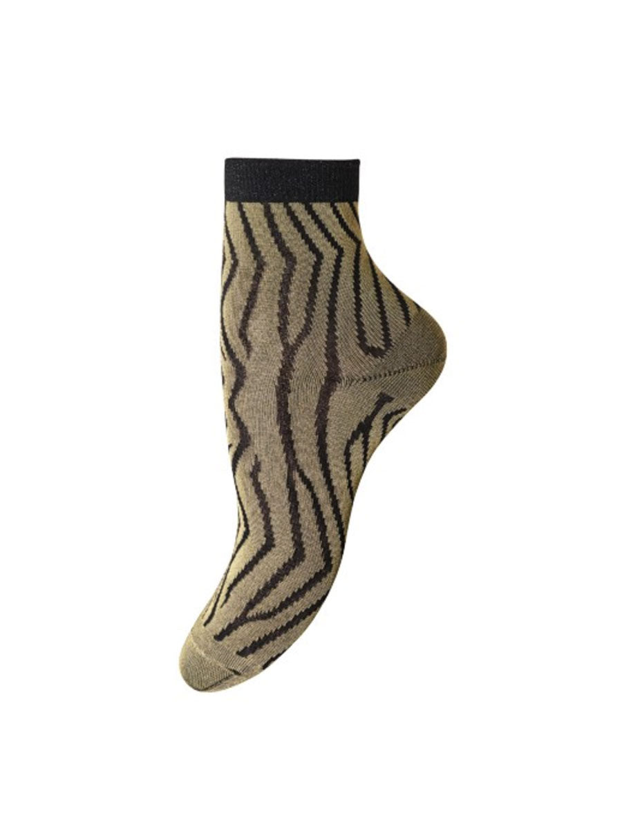LYNN ANKLE SOCKS - BRIGHT GOLD
