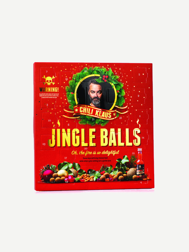 JINGLE BALLS CHILLI LIQUORICE ADVENT CALENDAR