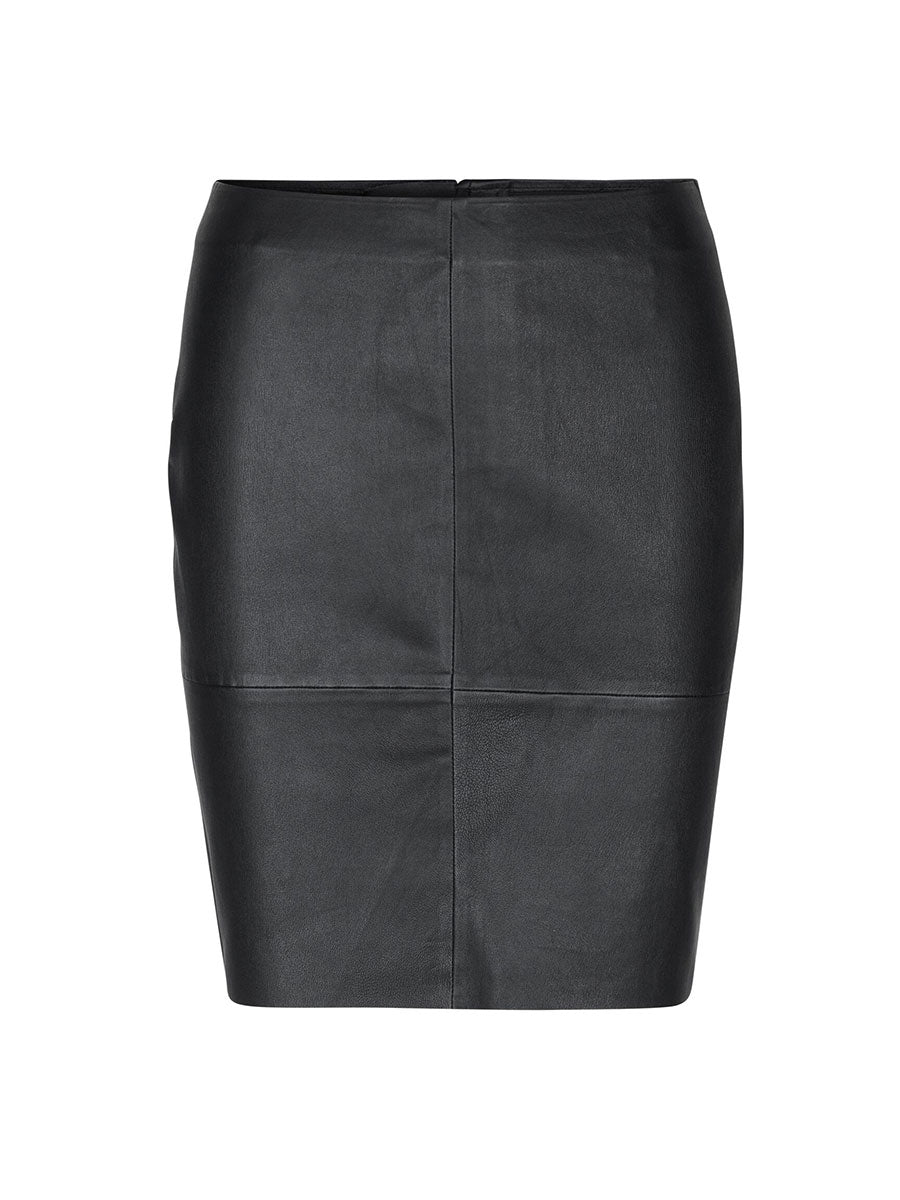 GLORIA 2 LEATHER SKIRT