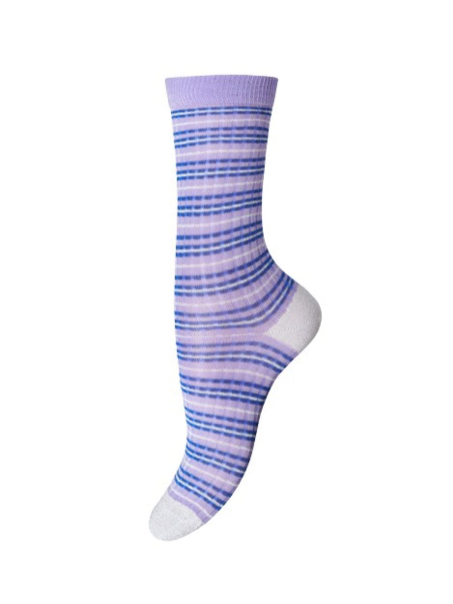 ERICA ANKLE SOCKS - LILAC