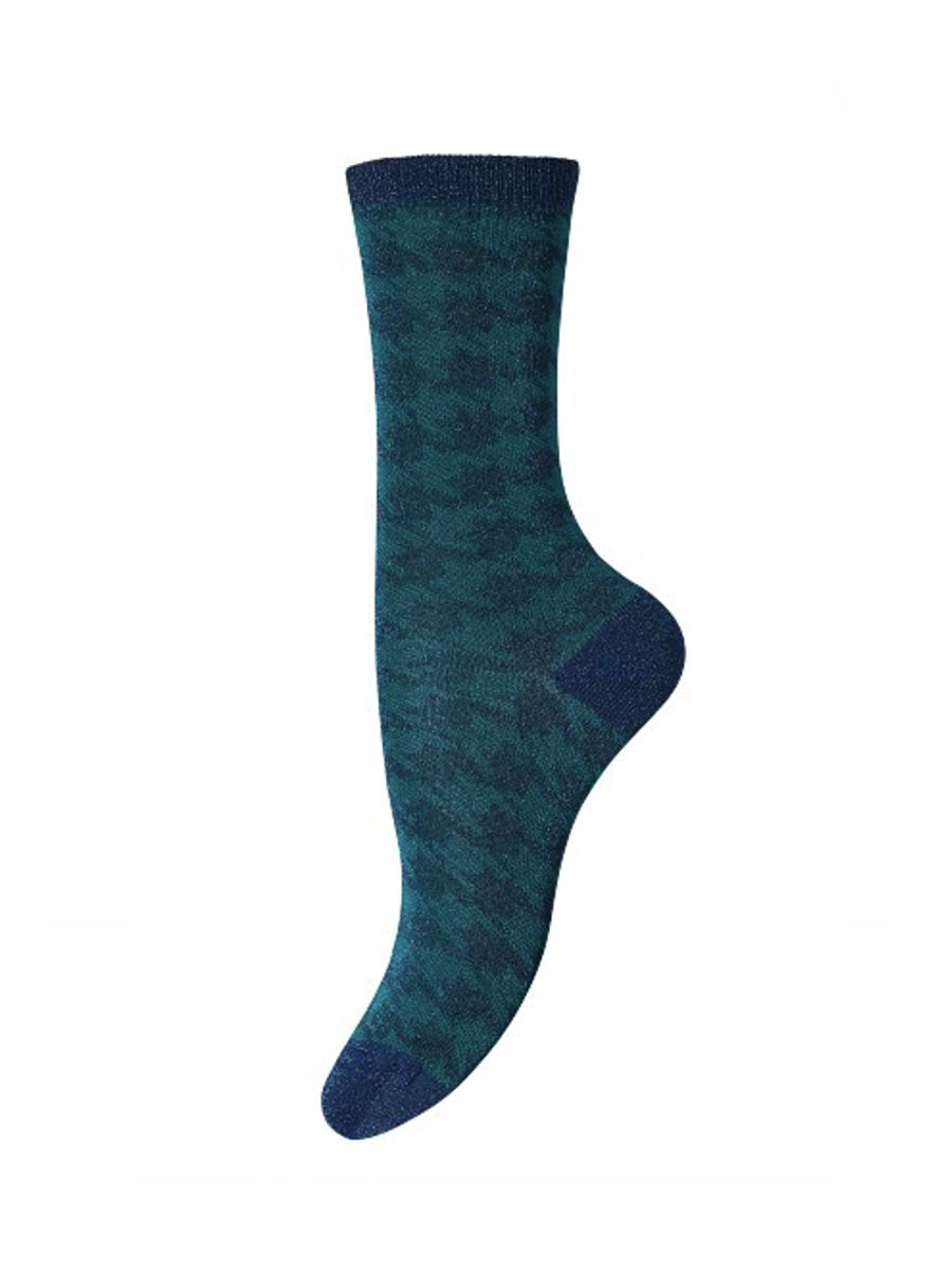 LYDIA ANKLE SOCKS - EMERALD