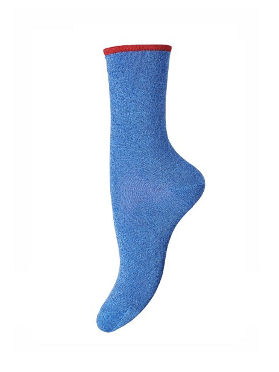 MARCY ANKLE SOCKS - BLUE
