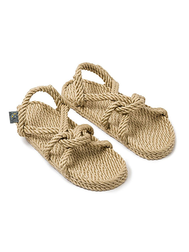 MOUNTAIN MAMA ROPE SANDALS - CAMEL