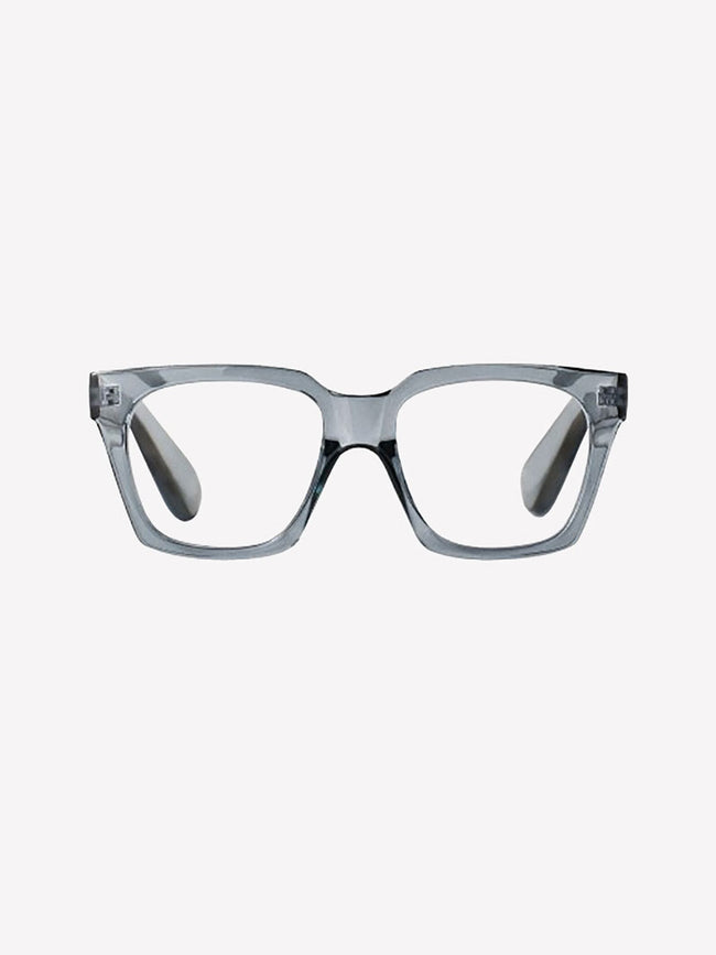 NELLY READING GLASSES - TRANSPARENT GREY