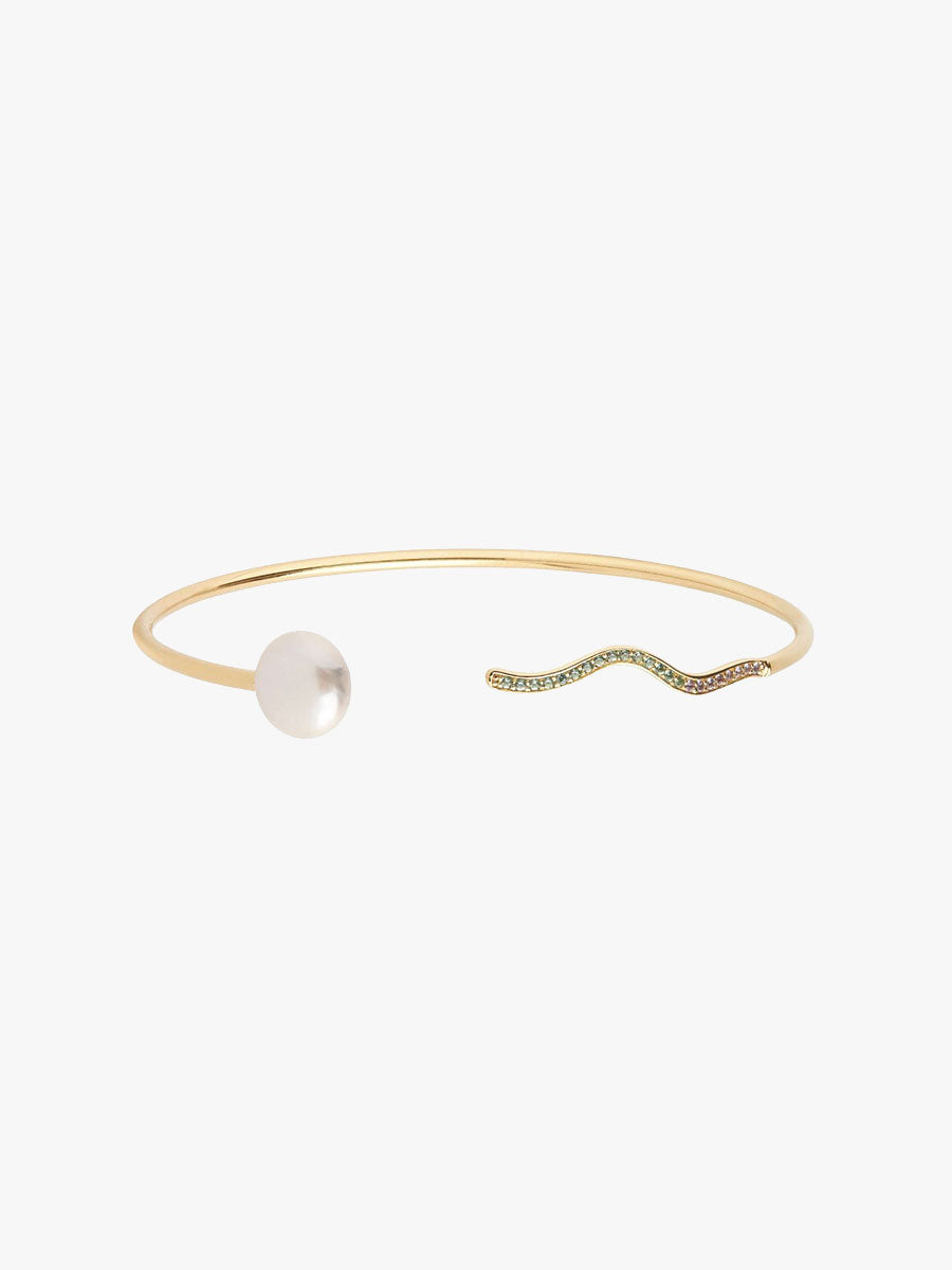 ONDA FLEXIBLE CUFF - GOLD
