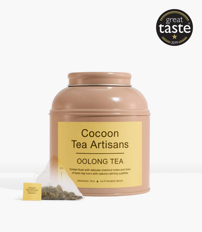 TEA CAN - OOLONG