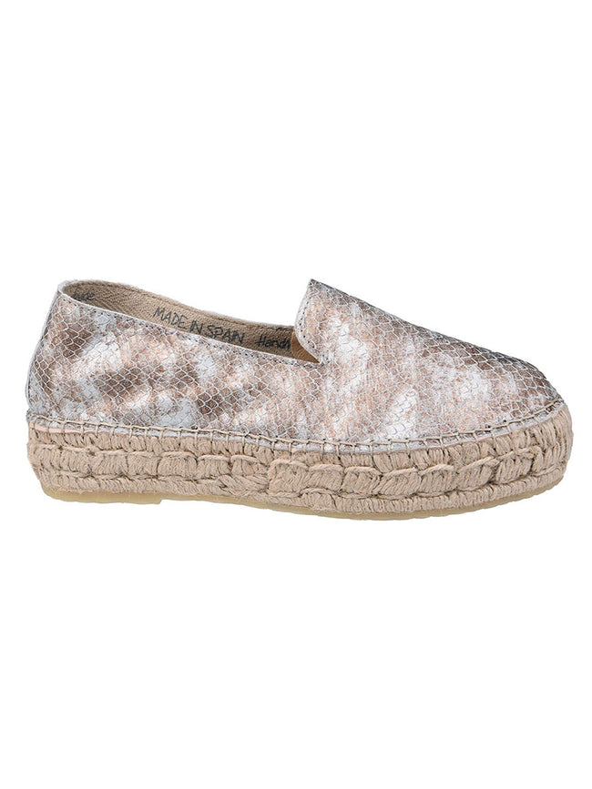 DRAGON METALLIC ESPADRILLES