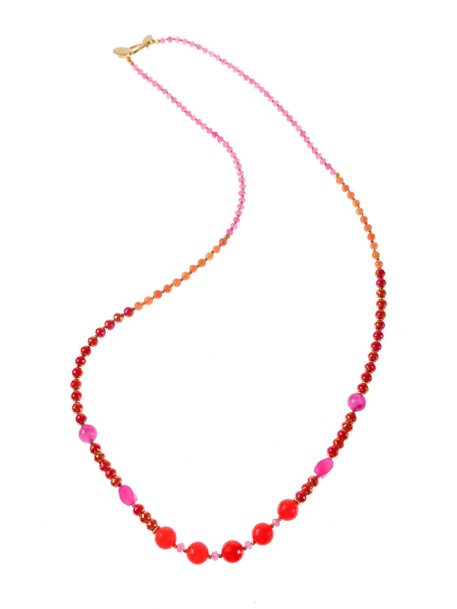 CALYPSO MAXI BEADED NECKLACE