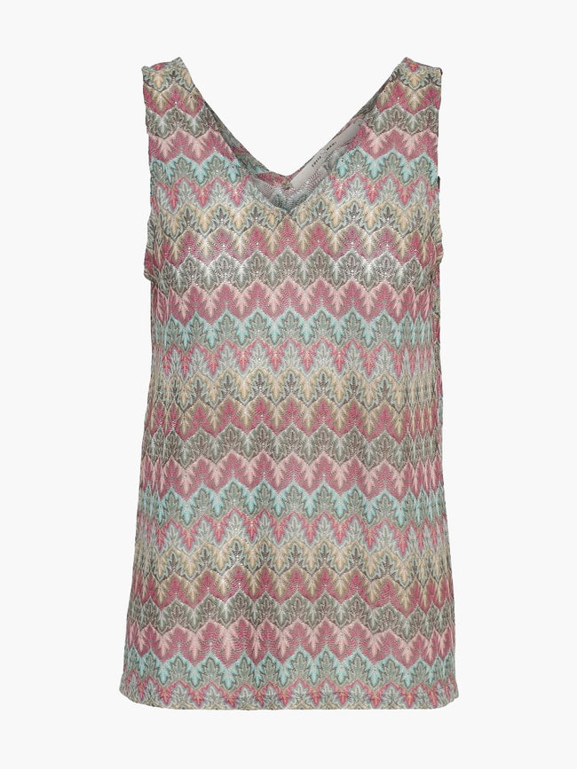 HOT VEST TOP - MISSIONI MINT/PINK