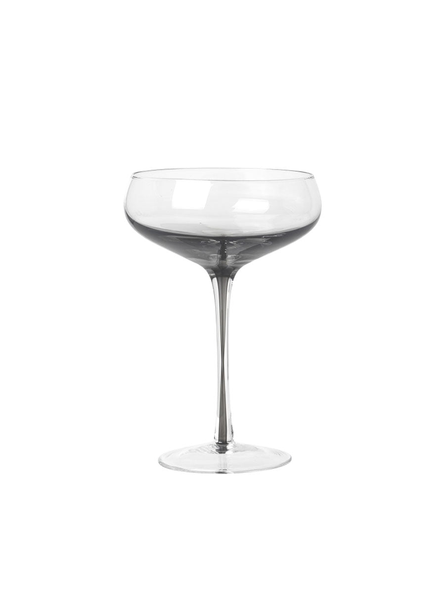 COCKTAIL GLASSES SET OF 4 - SMOKE