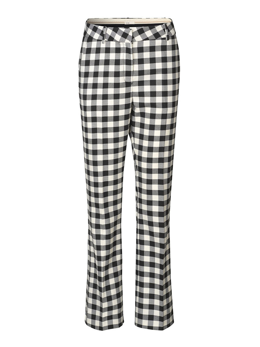 GYMMA TROUSERS - CHECKED