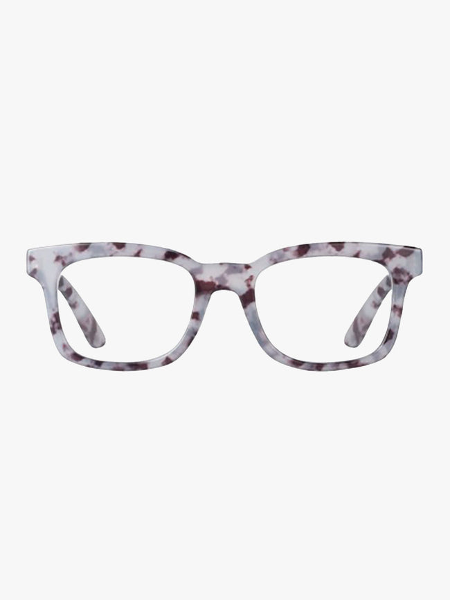 SHARON TURTLE READING GLASSES - BLUE BROWN