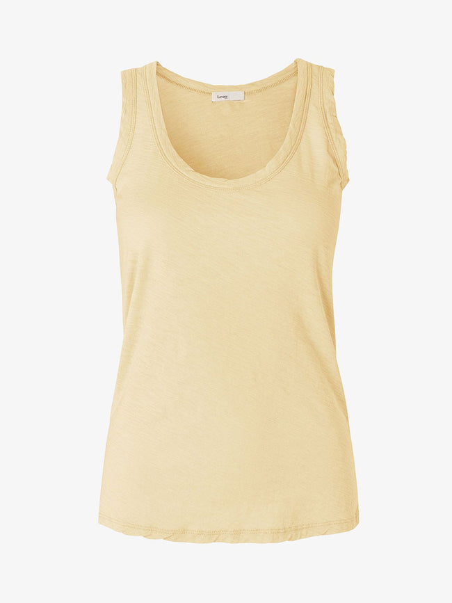 ANY7 SCOOP NECK VEST - CHAMOMILE
