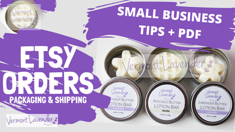 Etsy Orders Packaging and Shipping Small Business Tips