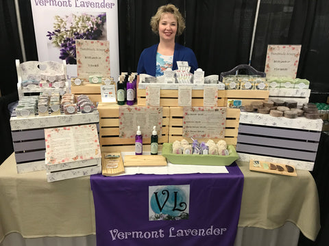Vermont Lavender Show Display