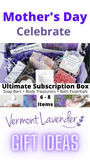 Mother's Day gift ideas Subscription Box Gift for Her Birthday Mom