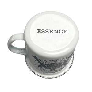 Brews & Bren Guns ESSENCE Enamel Mug