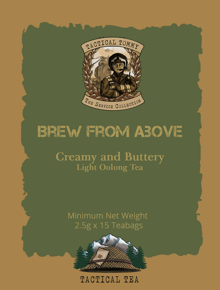 Brew From Above - Light Oolong Tea