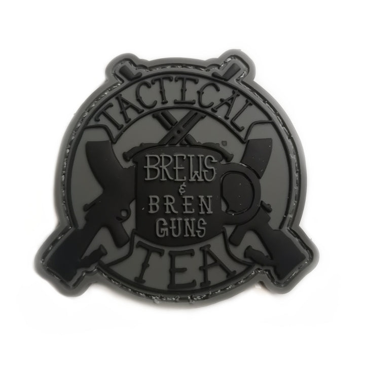 Brews & Bren Guns PVC Patch