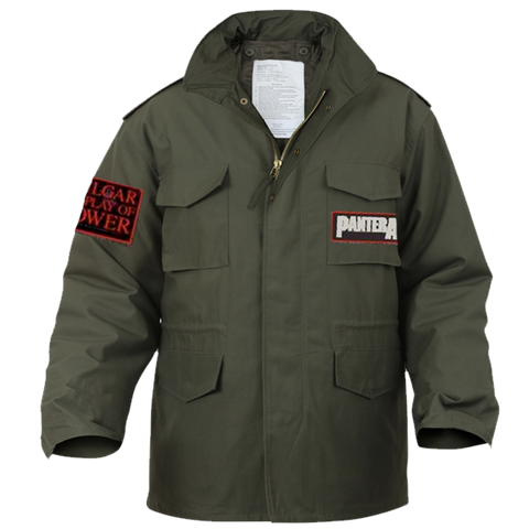Pantera Vulgar Display of Power Military Jacket