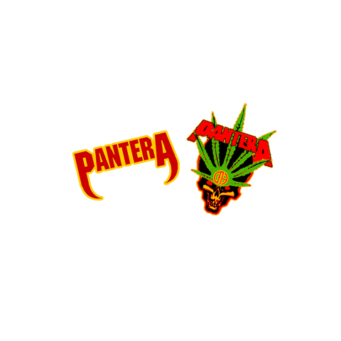 Pantera Collector's Edition Enamel Pin Set