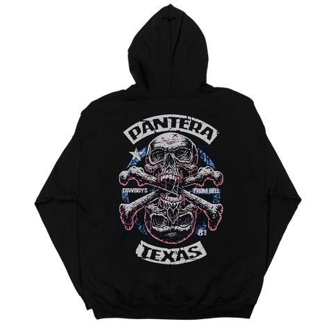 Pantera 25th Anniversary Cowboys From Hell Hoodie