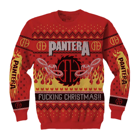 Fucking Christmas Holiday Knit Sweater