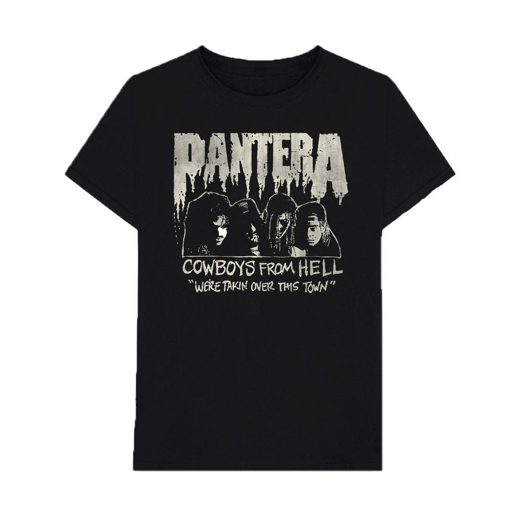 Cowboys From Hell Vintage Flyer T-Shirt