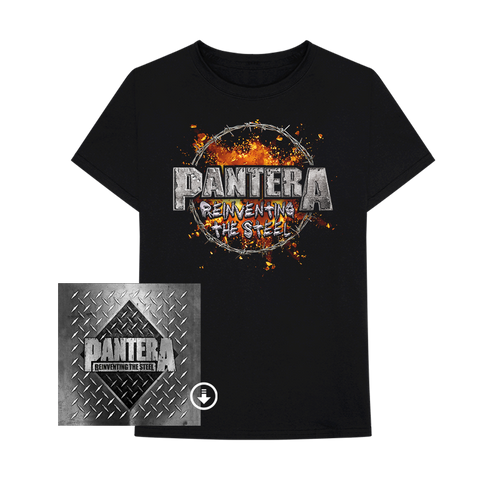 REINVENTING THE STEEL: 20th ANNIVERSARY EDITION Digital Album + T-Shirt Bundle
