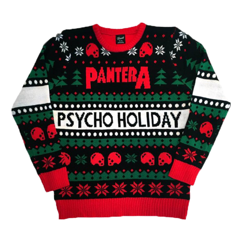 Psycho Holiday Knit Sweater