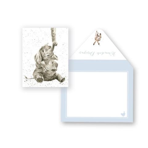 Wrendale Designs Baby Miniature Card
