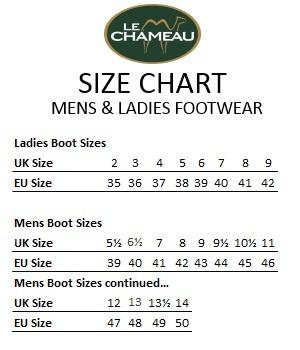 Le Chameau Country Vibram Neoprene Lined Boots