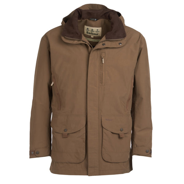 Barbour Berwick Waterproof Jacket - Clay