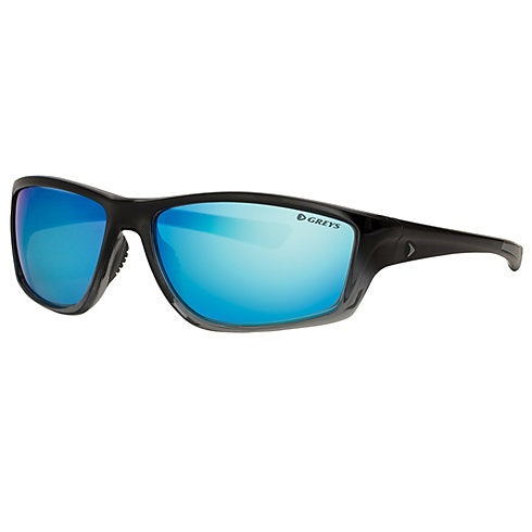 Greys G3 Sunglasses - Gloss Black Fade Frame Blue Mirror Lens