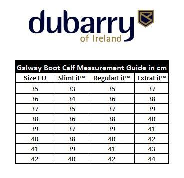 Dubarry Ladies Galway ExtraFit Boots