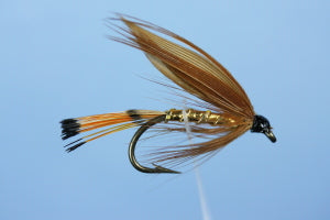 Cinnamon and Gold - Sea Trout Fly