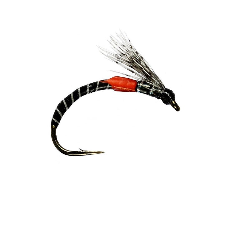 S-Film Black Emerger Buzzer Flies