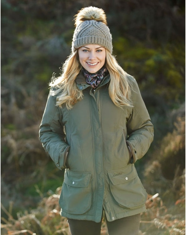 Schoffel Ladies Superlight Ghillie Coat - Forest