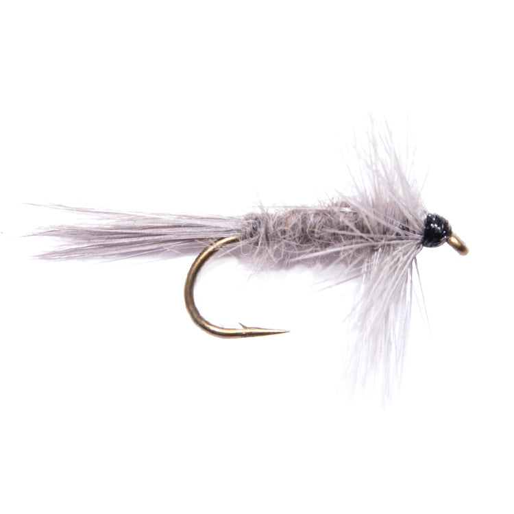 Blue Dun Hackled Dry Flies