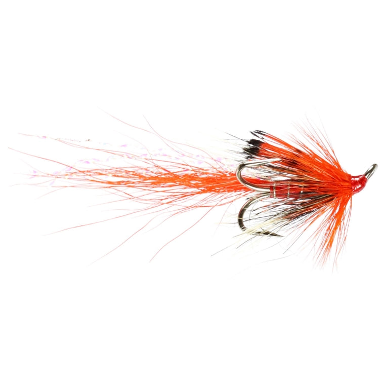 Allys Shrimp Orange Treble Flies