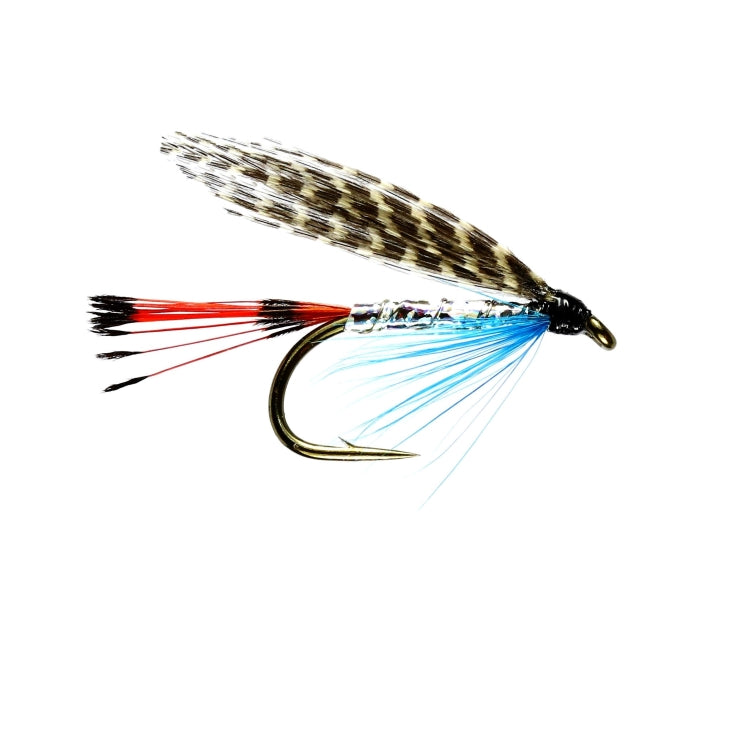 Teal Blue and Silver Winged Wet Flies