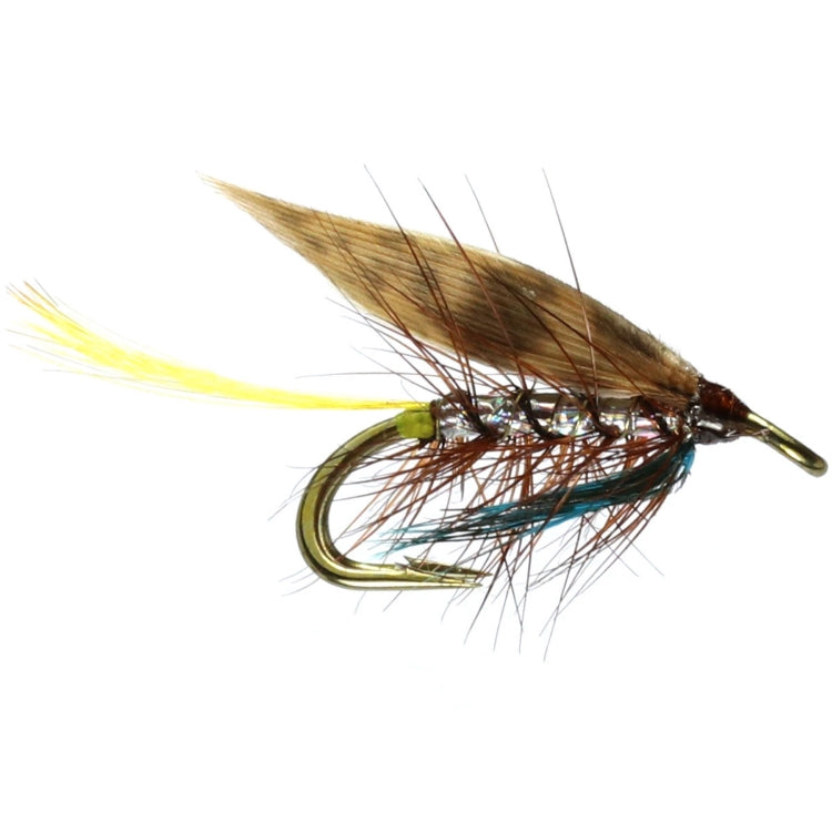 Silver Invicta Wee Double Flies