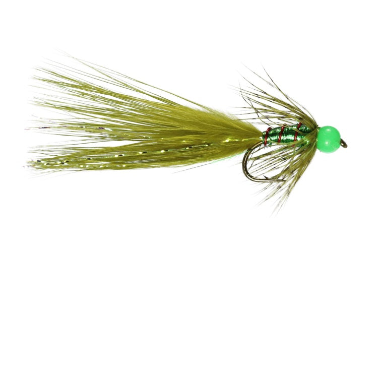 Mirage Green Bead Damsel Flies