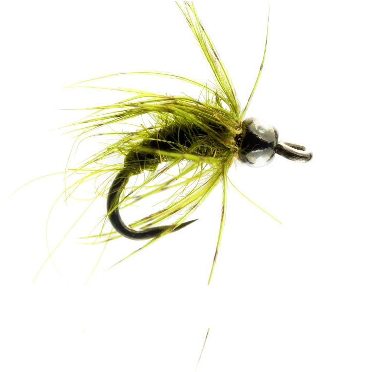 TUNGSTEN OLIVE PUPA NYMPH FLIES