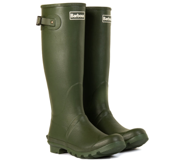 Barbour Mens Bede Wellingtons - Olive