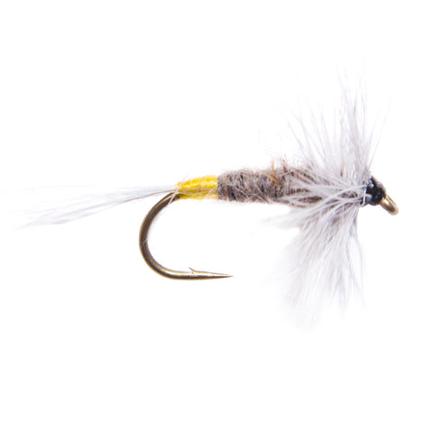 Half Stone Hackled Dry Flies