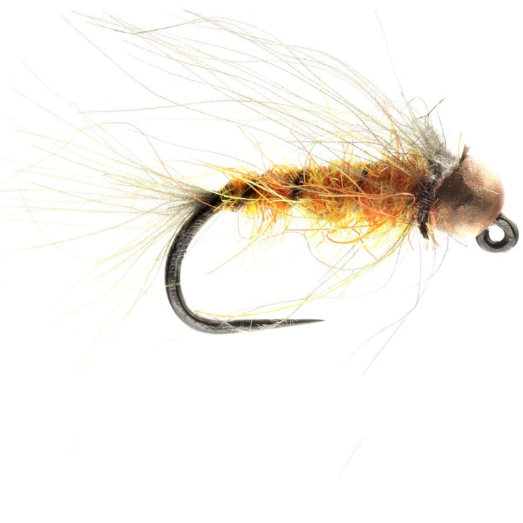 TUNGSTEN AMBER CDC NYMPH FLIES