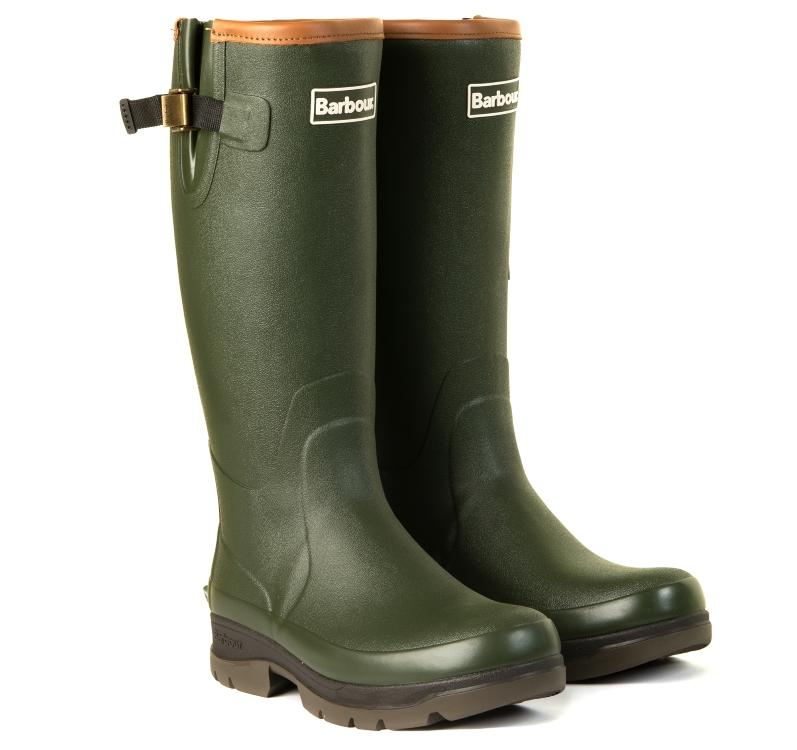 Barbour Mens Tempest Neoprene Lined Wellington Boots