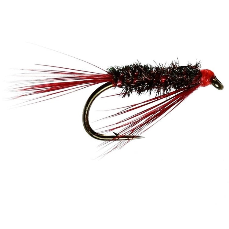 DIAWL BACH RED HEAD FLIES