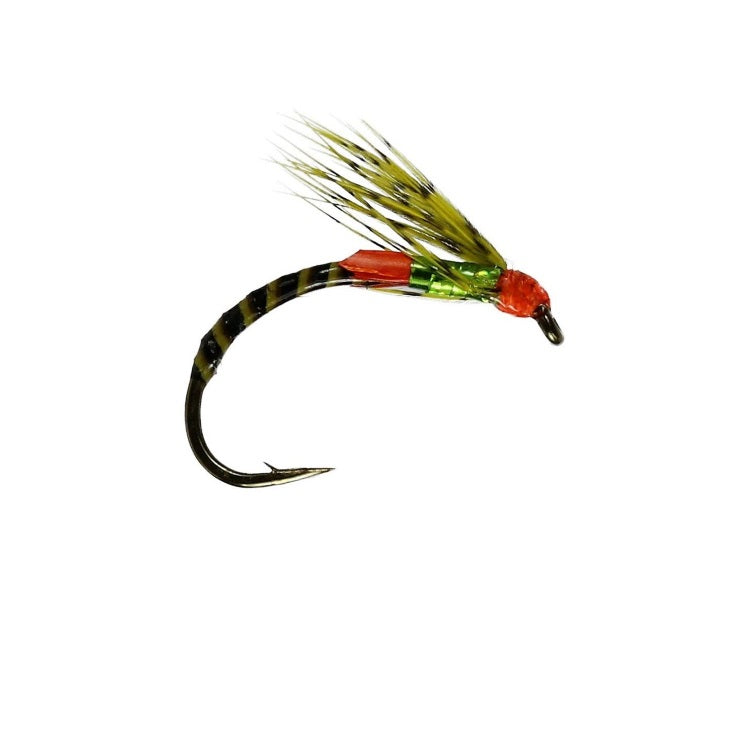 S-Film Olive Emerger Buzzer Flies